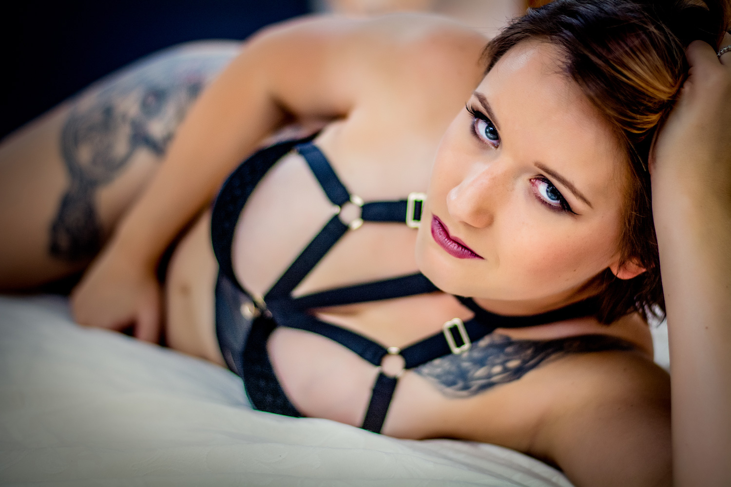 Sexy boudoir images with femininity by Cairns Photographer Catherine Coombs