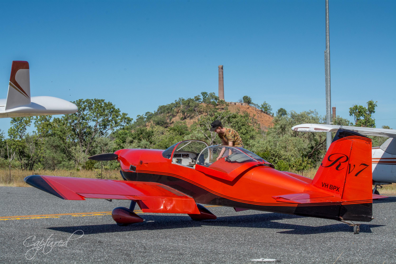 Van's Aircraft RV-7 in flight 1