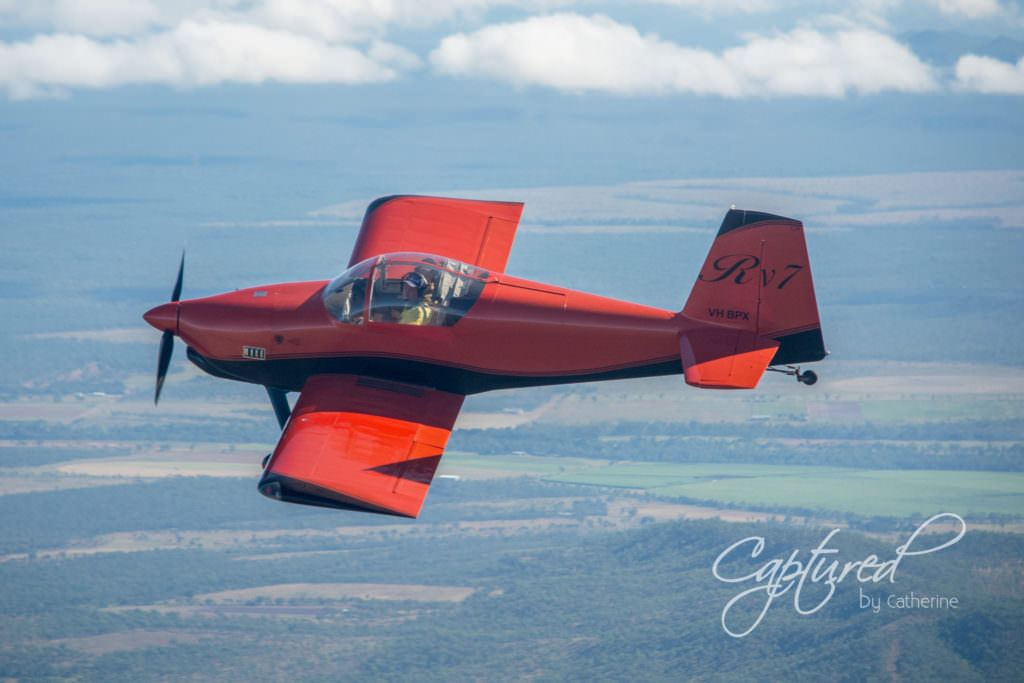 Van's Aircraft RV-7 in flight